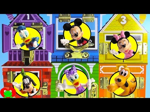 Mickey Mouse Clubhouse Friends Play Hide and Go Seek With Sofia the First