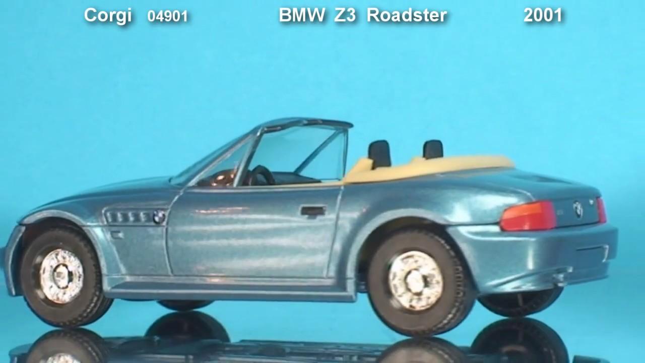 james bond bmw z3 roadster corgi 2001 youtube. Black Bedroom Furniture Sets. Home Design Ideas