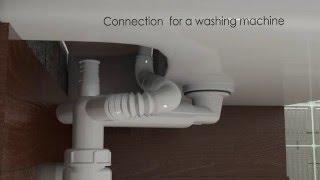видео Сифоны для кухонных моек