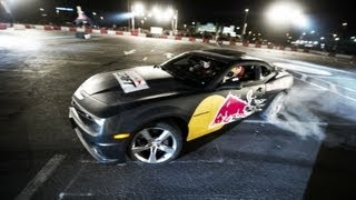 Drifting in Abu Dhabi - Red Bull Car Park Drift 2012