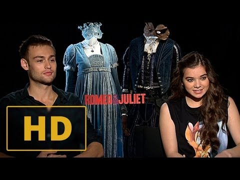 Romeo and Juliet - Hailee Steinfeld and Douglas Booth Interview HD (2013)