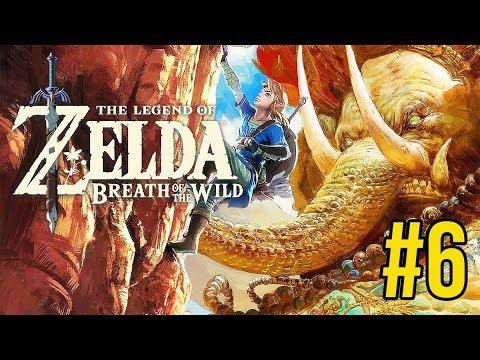 """Zelda: Breath of the Wild 6: GIẢI THOÁT """"THẦN THÚ"""" ĐẦU TIÊN: VOI KHỔNG LỒ"""