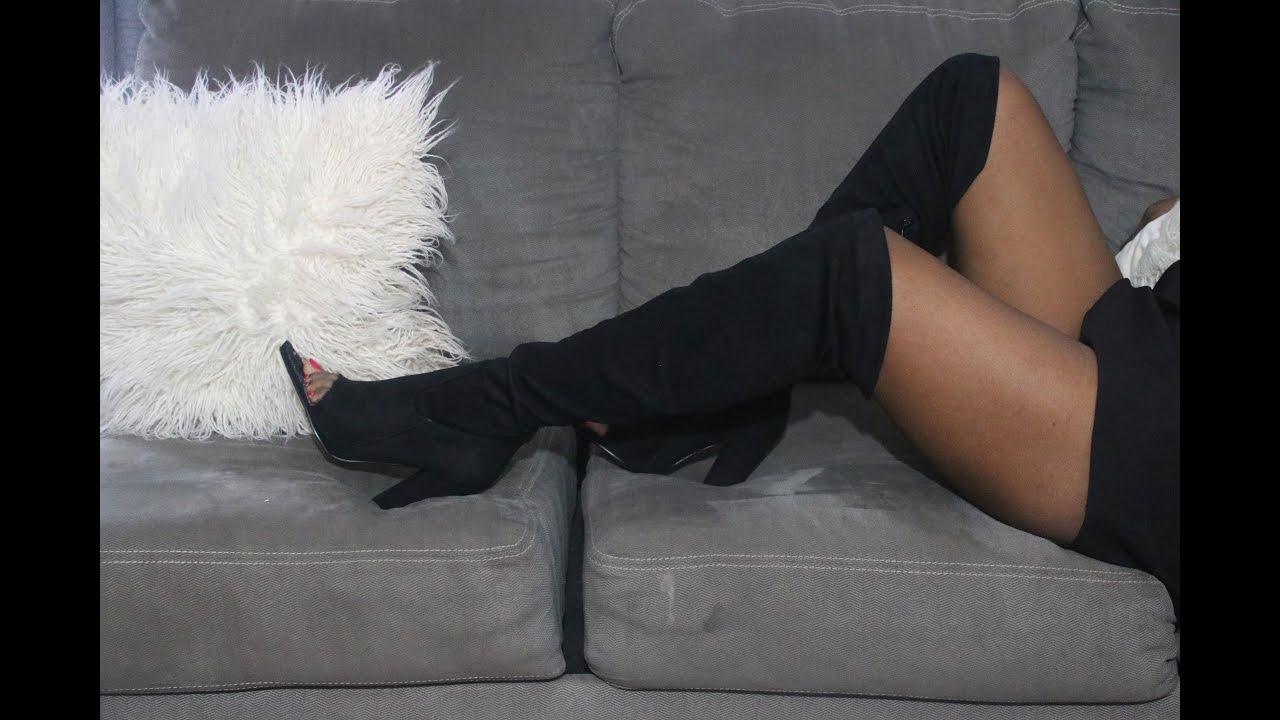 d68f8e7c7e95b DIY Yeezy Sock Boots - YouTube