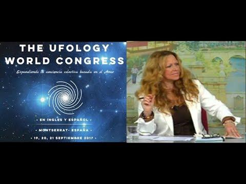 Congreso Mundial de Ufologia. Magdalena Del Amo.
