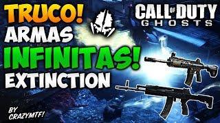 Call of Duty Ghost: Extinction | Truco Armas Infinitas! [Tutorial] Facil y Rapido