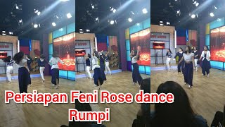PERSIAPAN FENI ROSE DANCE RUMPI NO SECRET 5 April 2019