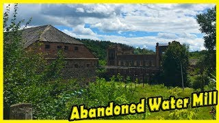 Creepy Abandoned Water Mill Exploring 2018. Old Abandoned Places Found 2018. Lost Places