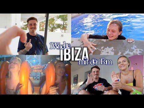 vlog / ich bin auf ibiza mit der familie!