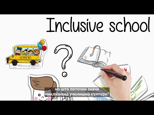 HEAD video on inclusive school culture - Macedonian subtitles