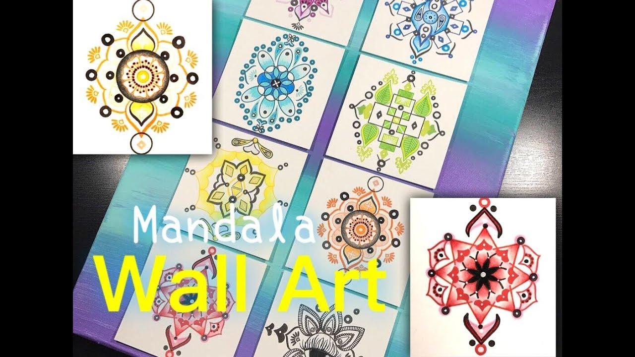 Wall Art With The Mandala Maker - YouTube