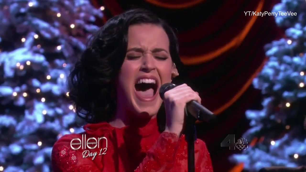 Katy perry unconditionally live acoustic on ellen show 2013 youtube - Ellen show live ...