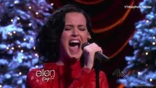 Repeat youtube video Katy Perry - Unconditionally (live acoustic on Ellen Show 2013)