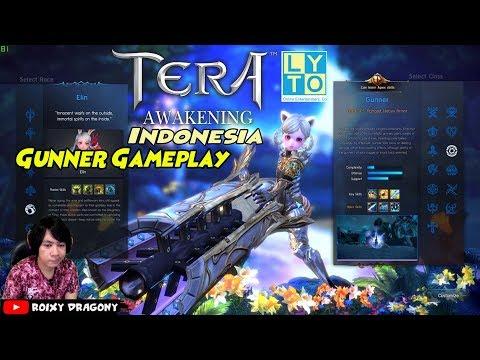 Official Rilis !!! Tera Awakening Lyto Indonesia - GUNNER Gameplay MMORPG