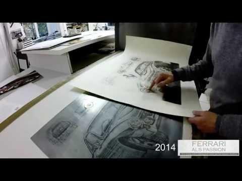 FERRARI als PASSION 2014 - Ein Mappenwerk entsteht!