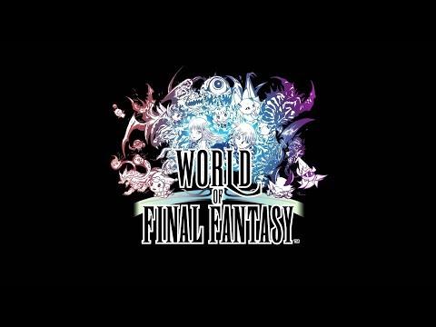 World of Final Fantasy - Final Fantasy meets pokemon SUPER fun PC game review