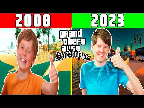 КАК Я ИГРАЛ В GTA В 2008 ГОДУ | МОЁ ЗНАКОМСТВО С GTA SAN ANDREAS ЧАСТЬ 2  КАК Я СТАЛ GTAШНИКОМ #4