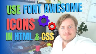 How To Use Font Awesome Icons In HTML And CSS
