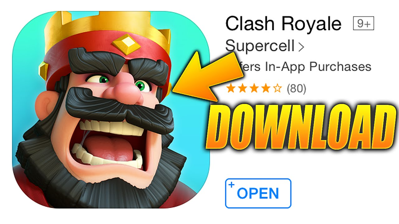 clash royale free download play store
