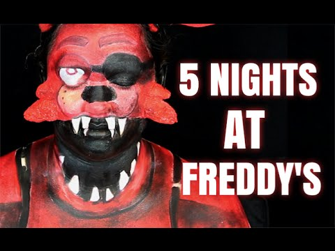 FOXY (FIVE NIGHTS AT FREDDY'S MAKEUP TUTORIAL)