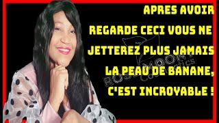 APRES AVOIR REGARDER CECI VOUS NE JETTEREZ PLUS JAMAIS LA PEAU DE BANANE C EST INCROYABLE !!!