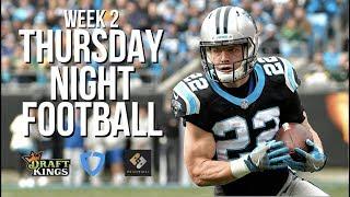 NFL WEEK 2 THURSDAY NIGHT FOOTBALL DRAFTKINGS AND FANDUEL BREAKDOWN — BUCCANEERS VS. PANTHERS