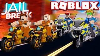 NEUE POLICE MOTORRAD in ROBLOX JAILBREAK / LET'S CATCH ALLE DIE KRIMINELLEN