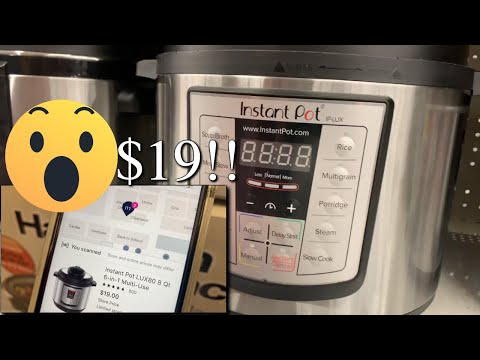 RUN NOW! WALMART Instant Pot 8qt Lux80 Edition $19! Originally $100 (CRAZY DEALS) + $59 43