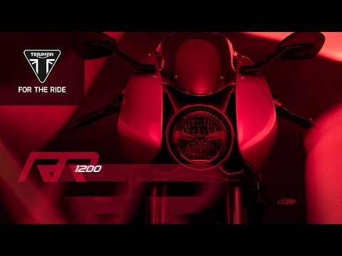 Get ready for the new Speed Triple 1200 RR…