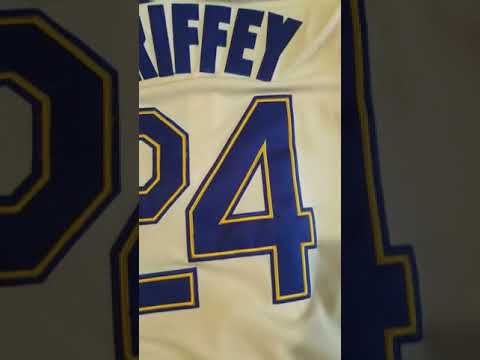 buy popular f5c3a 02642 KNOCKOFF DHGATE JERSEY REVIEW: LEBRON LAKERS JERSEY, MCGRADY MAGIC, GRIFFEY  MARINERS
