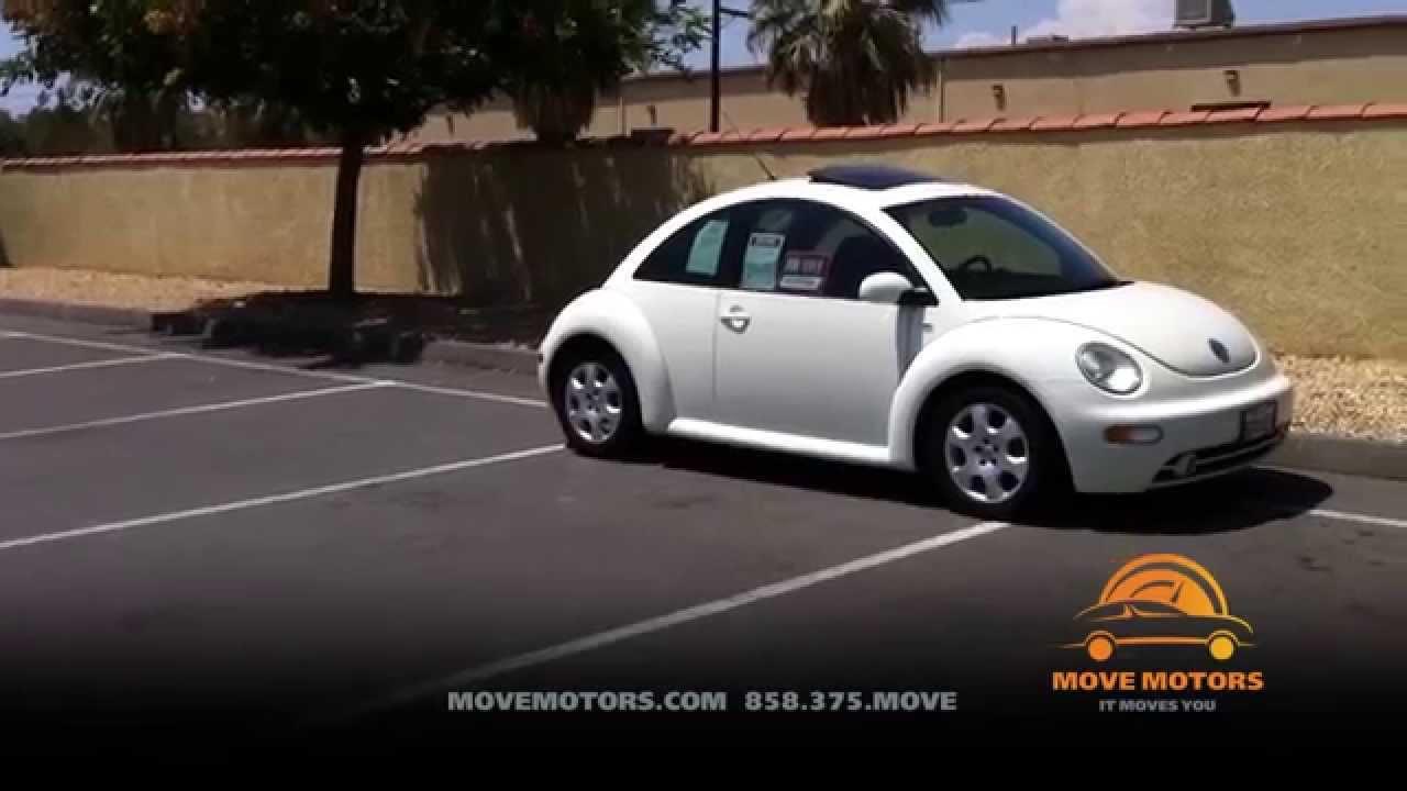 2003 volkswagen beetle review and test drive move motors. Black Bedroom Furniture Sets. Home Design Ideas