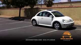 2003 Volkswagen Beetle Review and Test Drive - Move Motors