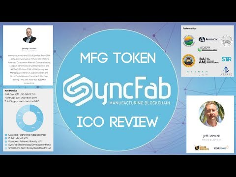 SyncFab (MFG) | Manufacturing Meets Blockchain (ICO Review)