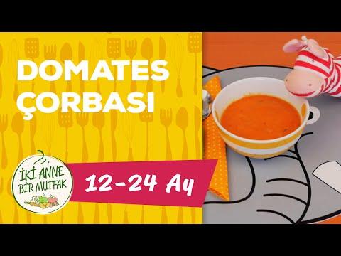 Bebekler İçin Çorba - Domates Çorbası (1 Yaş +) | İki Anne Bir Mutfak