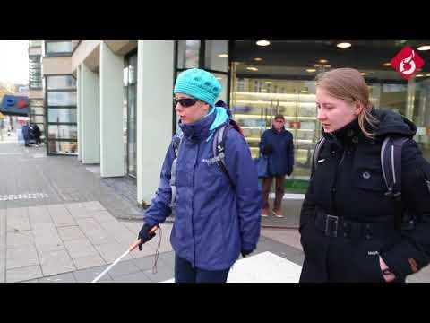 Barrierefreiheit in Fulda - Auf Tour mit Lea