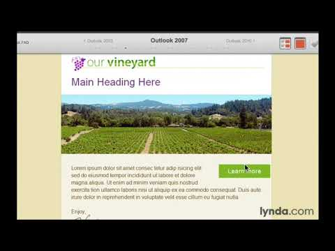 Responsive HTML Email Tutorial: Testing Your Email In 30+ HTML Email Clients | Lynda.com