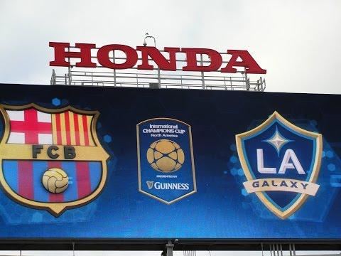 Trip to International Champions Cup - FC Barcelona vs LA Galaxy Game