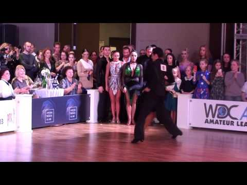 Michail Popov - Veronika Tamarova Nevsky Ball Amateur Latin 1/4 Samba