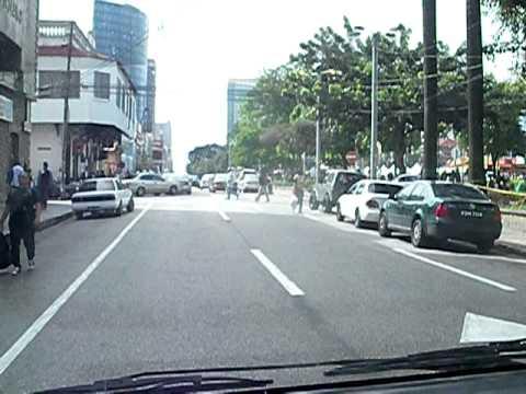 Tour Through Downtown Port of Spain - Trinidad - January 2011