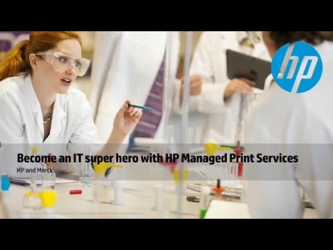 HP Managed Print Services - IT Super Hero Webinar