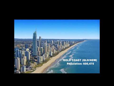TOP 10 LARGEST CITIES IN AUSTRALIA