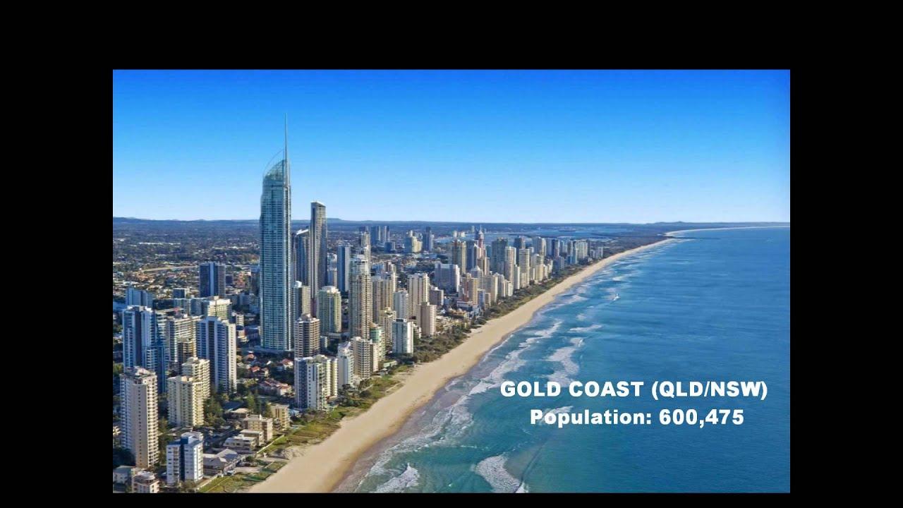 Cities in Australia