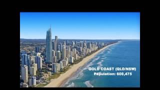 TOP 10 LARGEST CITIES IN AUSTRALIA