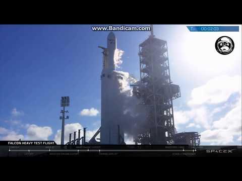 Falcon Heavy Rocket Part 1