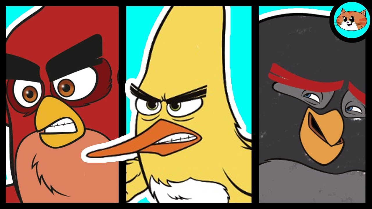 the angry birds movie characters coloring pages  red