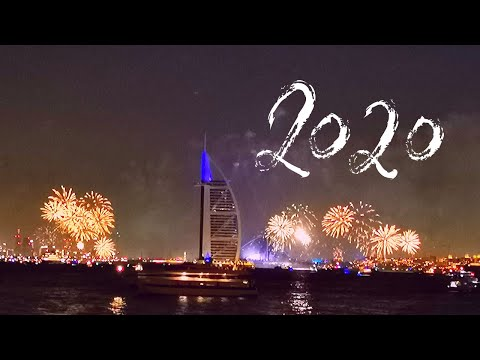 Dubai New Year 2020: Burj Al Arab fireworks show at world's luxurious hotel.