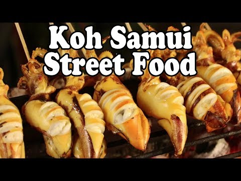 Koh Samui Street Food Tour. Thai Street Food In Koh Samui Thailand