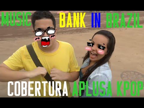 Music Bank In Brazil: Coletiva de Imprensa!