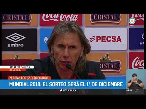 De la mano de Ricardo Gareca, Perú vuelve a jugar un Mundial