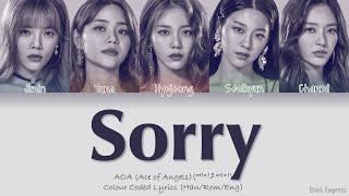 [QUEENDOM] AOA (에이오에이) - Sorry - Color Coded Lyrics