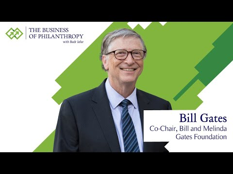 Bill Gates; A Conversation with Badr Jafar